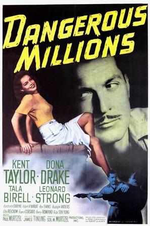 Dangerous Millions - Movie Poster (thumbnail)
