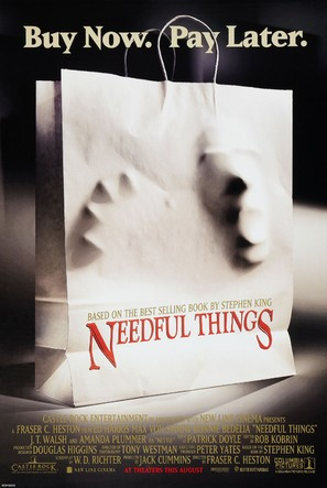 Needful Things - Theatrical poster (thumbnail)