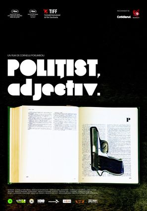 Politist, adjectiv - Romanian Movie Poster (thumbnail)