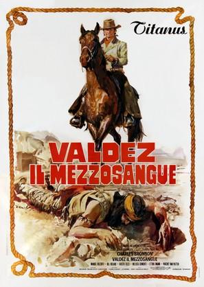 Valdez, il mezzosangue - Italian Movie Poster (thumbnail)