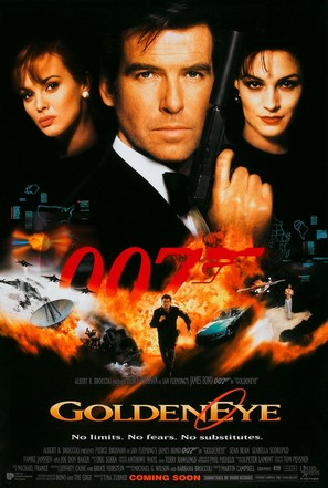 GoldenEye - British Movie Poster (thumbnail)