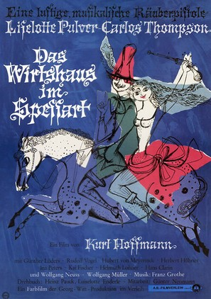 Das Wirtshaus im Spessart - German Movie Poster (thumbnail)