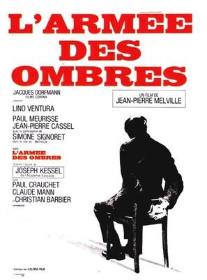 L'armée des ombres - French Movie Poster (thumbnail)