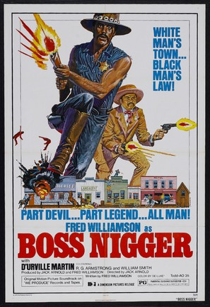 Boss Nigger - Movie Poster (thumbnail)