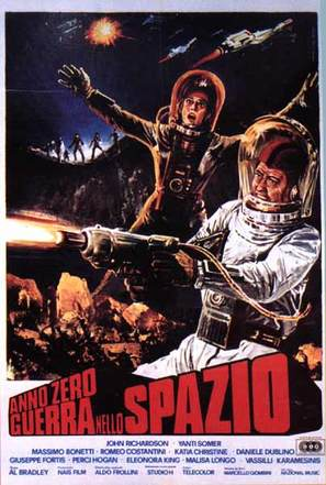 Anno zero - guerra nello spazio - Italian Movie Poster (thumbnail)