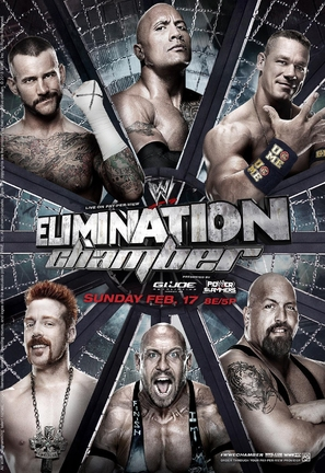 WWE Elimination Chamber - Movie Poster (thumbnail)