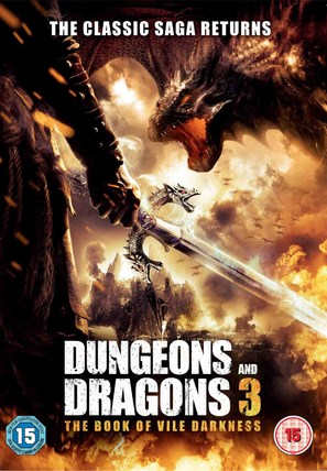 Dungeons & Dragons: The Book of Vile Darkness - British DVD cover (thumbnail)