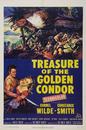 Treasure of the Golden Condor - Movie Poster (thumbnail)