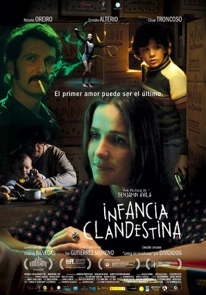Infancia clandestina - Argentinian Movie Poster (thumbnail)
