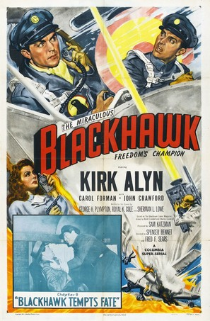 Blackhawk: Fearless Champion of Freedom - Movie Poster (thumbnail)