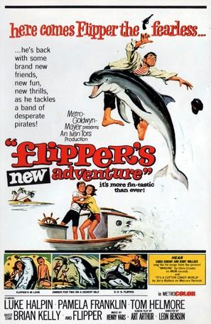 Flipper's New Adventure - Movie Poster (thumbnail)