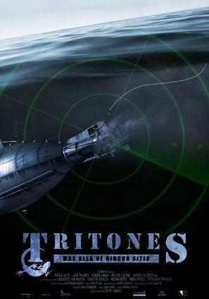 Tritones, Más allá de ningún sitio - Spanish Movie Poster (thumbnail)