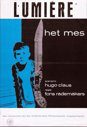 Het mes - Dutch Movie Poster (thumbnail)