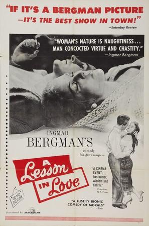 Lektion i kärlek, En - Movie Poster (thumbnail)