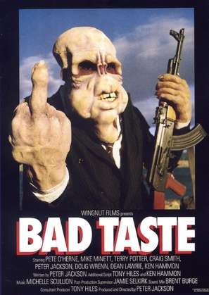 Bad Taste - Movie Poster (thumbnail)