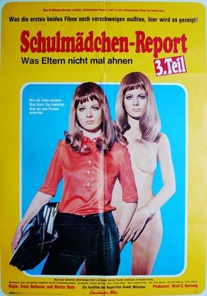 Schulmädchen-Report 3. Teil - Was Eltern nicht mal ahnen - German Movie Poster (thumbnail)