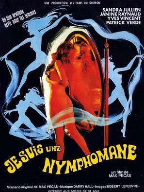 Je suis une nymphomane - French Movie Poster (thumbnail)