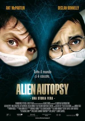 Alien Autopsy - Italian Movie Poster (thumbnail)