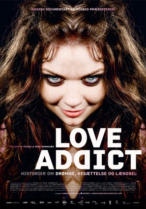 Love Addict - Danish Movie Poster (thumbnail)