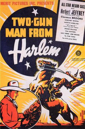 Two-Gun Man from Harlem - Theatrical poster (thumbnail)