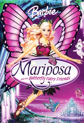 Barbie Mariposa and Her Butterfly Fairy Friends - DVD cover (thumbnail)
