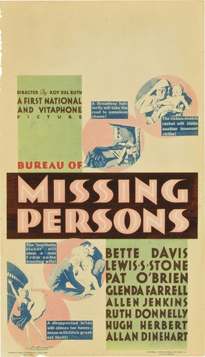 Bureau of Missing Persons - Movie Poster (thumbnail)