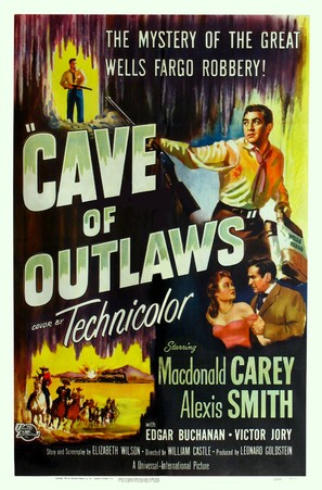 Cave of Outlaws - Movie Poster (thumbnail)