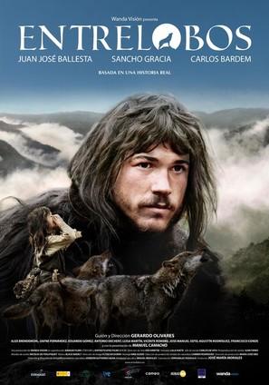 Entrelobos - Spanish Movie Poster (thumbnail)