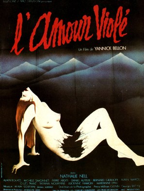 L'amour violé - French Movie Poster (thumbnail)