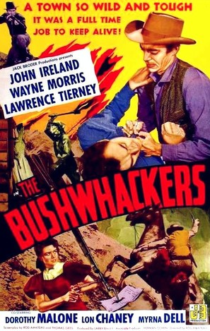 The Bushwhackers - Movie Poster (thumbnail)