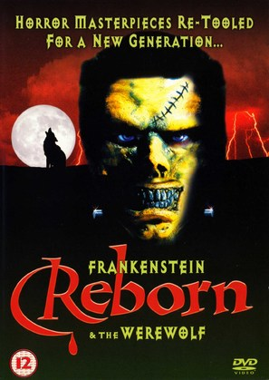 Frankenstein & the Werewolf Reborn! - British DVD cover (thumbnail)