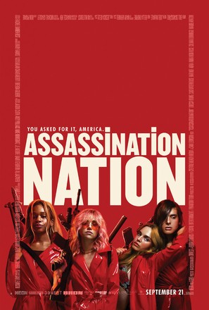 Assassination Nation - Movie Poster (thumbnail)
