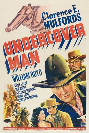 Undercover Man - Movie Poster (thumbnail)