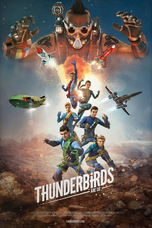 """Thunderbirds Are Go"" - British Movie Poster (thumbnail)"