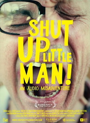 Shut Up Little Man! An Audio Misadventure - Movie Poster (thumbnail)