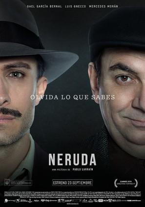 Neruda - Spanish Movie Poster (thumbnail)