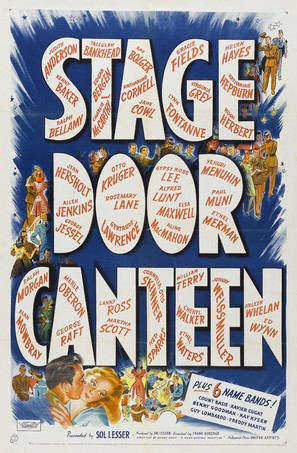 Stage Door Canteen - Movie Poster (thumbnail)