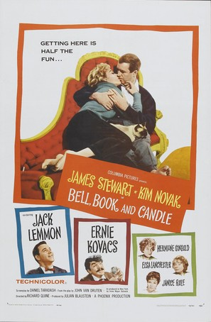 Bell Book and Candle - Movie Poster (thumbnail)
