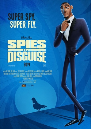 Spies in Disguise - Movie Poster (thumbnail)