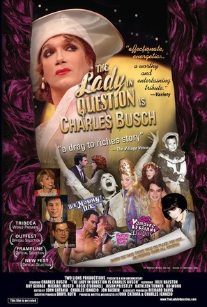 The Lady in Question Is Charles Busch - poster (thumbnail)