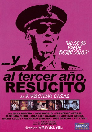 ...Y al tercer año, resucitó - Spanish Movie Cover (thumbnail)