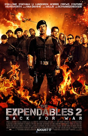 The Expendables 2 - Movie Poster (thumbnail)