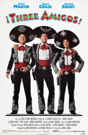 ¡Three Amigos! - Movie Poster (thumbnail)
