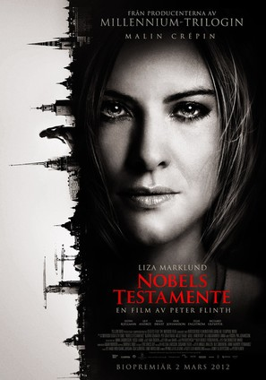 Nobels testamente - Swedish Movie Poster (thumbnail)