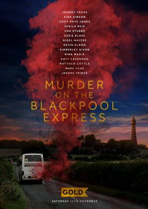 Murder on the Blackpool Express - British Movie Poster (thumbnail)