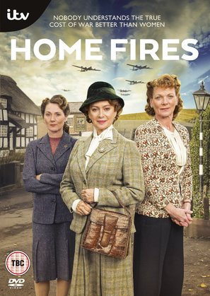 """Home Fires"" - British DVD movie cover (thumbnail)"
