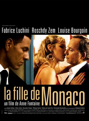 La fille de Monaco - French Movie Poster (thumbnail)