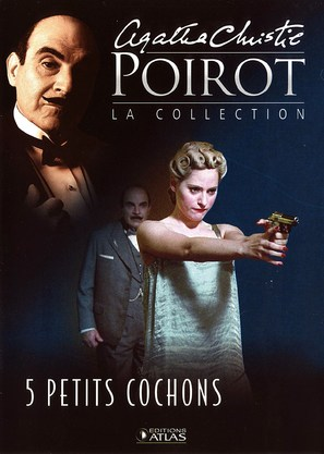 """""""Poirot"""" Five Little Pigs - French poster (thumbnail)"""