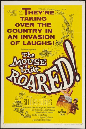 The Mouse That Roared - Movie Poster (thumbnail)