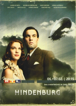 Hindenburg - German Movie Poster (thumbnail)